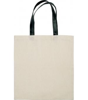 Shopper Ki-Mood in cotone con manici a contrasto - 38x42 - 220 gr