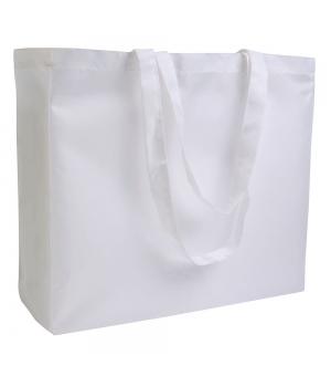Shopper Borse in poliestere 40x35x12 cm con manici lunghi e soffietto