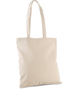 Shopper Ki-Mood classico in cotone bio, manici lunghi - 38x42 - 310 gr