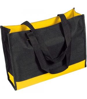Shopper Borse in poliestere bicolore - 44x33x11,7 cm