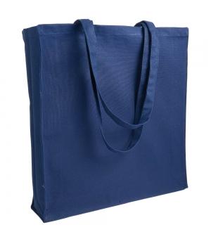 Shopper Borse in canvas - tela 280 gr manici lunghi e soffietto - 38x42x8 cm