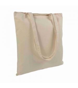Shopper Borse in canvas - tela 280 gr manici lunghi - 38x42 cm colore naturale