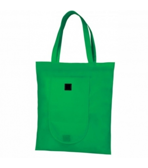 Shopper Borse in tnt manici lunghi richiudibile - 80 gr - 38x42 cm - Alicante