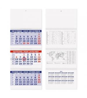 Calendari Trittici 3 spirali