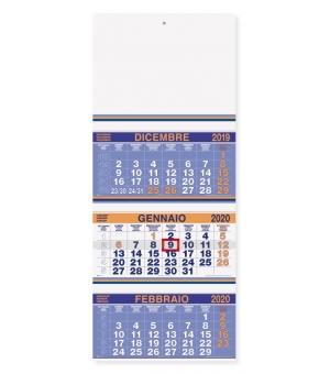 Calendari Trittici 33x79 fluo