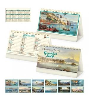 Calendari da tavolo fotografici avoriati Gouaches