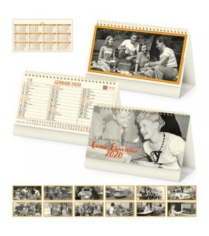 Calendari da tavolo fotografici avoriati Come Eravamo