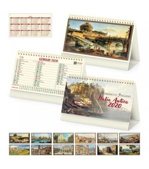 Calendari da tavolo fotografici avoriati Italia Antica