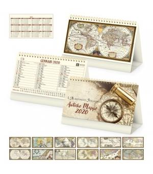 Calendari da tavolo avoriati Antiche Mappe