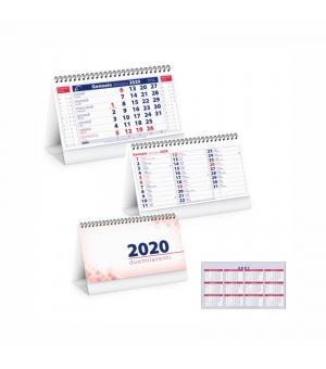 Calendari da tavolo Bis cm.19x14,5