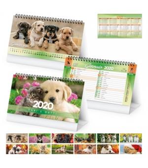 Calendari da tavolo Cani e Gatti