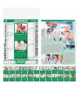 Calendari Farmacia cm 29x47