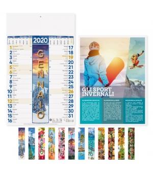 Calendari 4 Stagioni cm 29x47