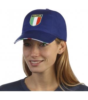 Cappellino con scudetto Italia