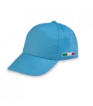 Berretto golf Italia con bandiera ricamata