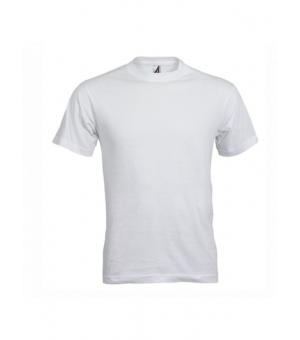 Magliette personalizzate adulto bianca unisex