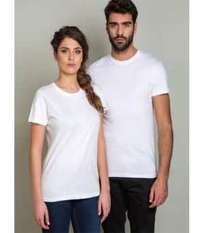 Magliette personalizzate adulto bianca unisex Ale 135 gr cotone 100%