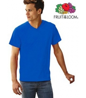 T-shirt Fruit of the Loom Valueweight V-Neck T gr. 165 con scollatura a V