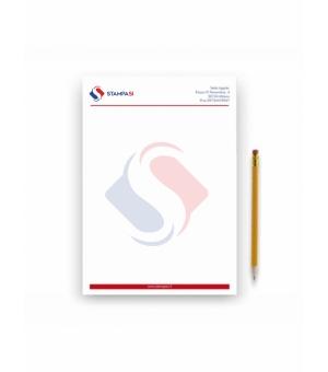 Fogli di carta intestata Formato A4 - 4 colori