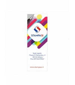 Adesivi formato 10,5x29,7 cm in carta bianca
