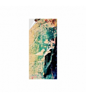 Adesivi formato cm 9,8x21 in PVC per esterno pellicola bianca