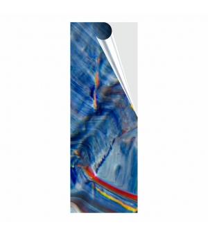 Adesivi formato cm 10,5x29,7 in PVC per esterno pellicola trasparente