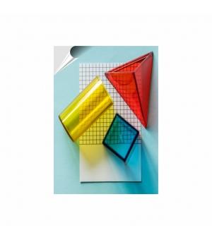 Adesivi formato A5 in PVC per esterno pellicola bianca