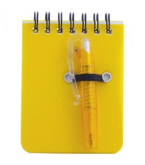 Mini Taccuini cm 7x9,5 ad anelli e mini penna