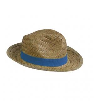 Cappello in paglia con fascia elastica 2,5 cm