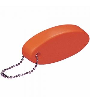Portachiavi galleggiante in PU di forma ovale