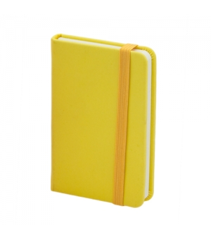 Block notes colorati cm 6,5x10x1,5 con 98 fogli ed elastico