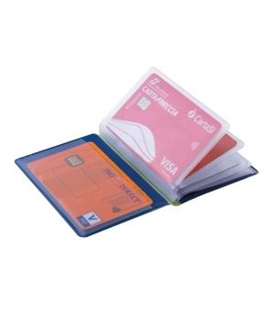 Portacard 10 posti  cm 7,5x10,3 con RFID antitruffa