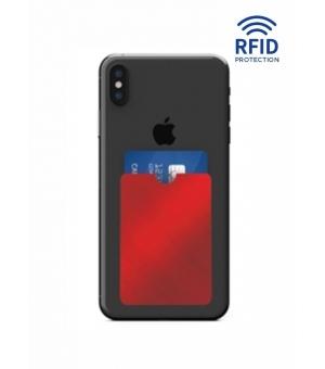 Portacard 1 tasca in alluminio cm 6,2x9 con protezione RFID antitruffa