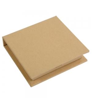Porta foglietti adesivi da tavolo in cartoncino 9,5 x 9,3 x 2,2  cm