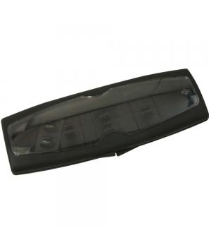 Astuccio Portapenne in plastica trasformabile per contenere 1 o 2 penne