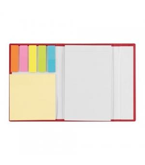 Set notes con fogli adesivi e segnapagina colorati