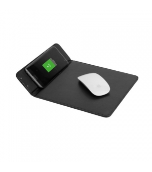 Tappetino mouse con base di ricarica wireless integrata