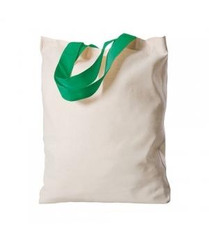Shopper Borse Island in cotone manici corti colorati - 120 gr - 26x32 cm