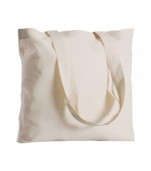 Maxi Shopper Borse Natural in cotone e manici lunghi - 130 gr - 42x42 cm