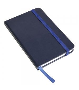 Taccuini colorati cm 9x14 con elastico - 80 pagine fogli bianchi
