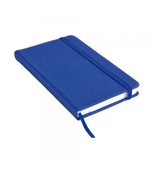 Taccuini colorati cm 9x14 con elastico - 160 pagine a righe