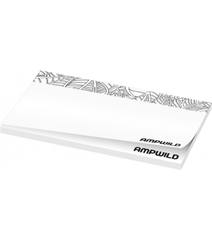 Foglietti adesivi Sticky-Mate® Budget mm 127x75 - 50 fogli carta bianca