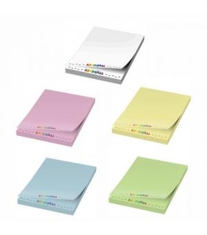 Foglietti adesivi Sticky-Mate® 50x75 - 50 fogli carta colorata - stampa full color