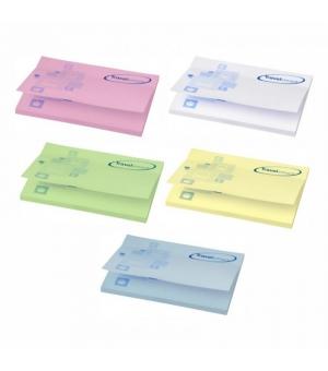 Foglietti adesivi Sticky-Mate cm 10x7,5 - 50 fogli carta colorata - stampa full color