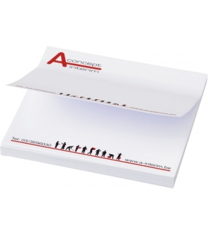 Foglietti adesivi Sticky-Mate® 100x100 - 25 fogli carta bianca - stampa full color