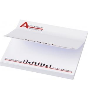 Foglietti adesivi Sticky-Mate® 100x100 - 100 fogli carta bianca - stampa full color