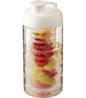 Borraccia sportiva H2O Bop® da 500 ml con coperchio a scatto e infusore