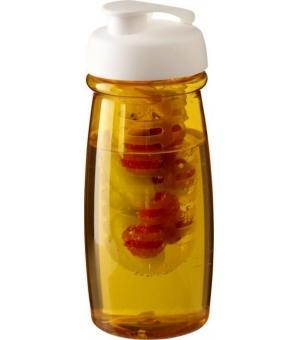Borraccia sportiva H2O Pulse® da 600 ml con coperchio a scatto e infusore
