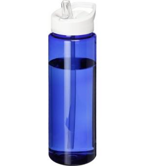 Borraccia sportiva H2O Vibe da 850 ml con coperchio con beccuccio