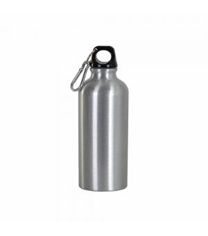 Borraccia in alluminio con moschettone da 400 ml
